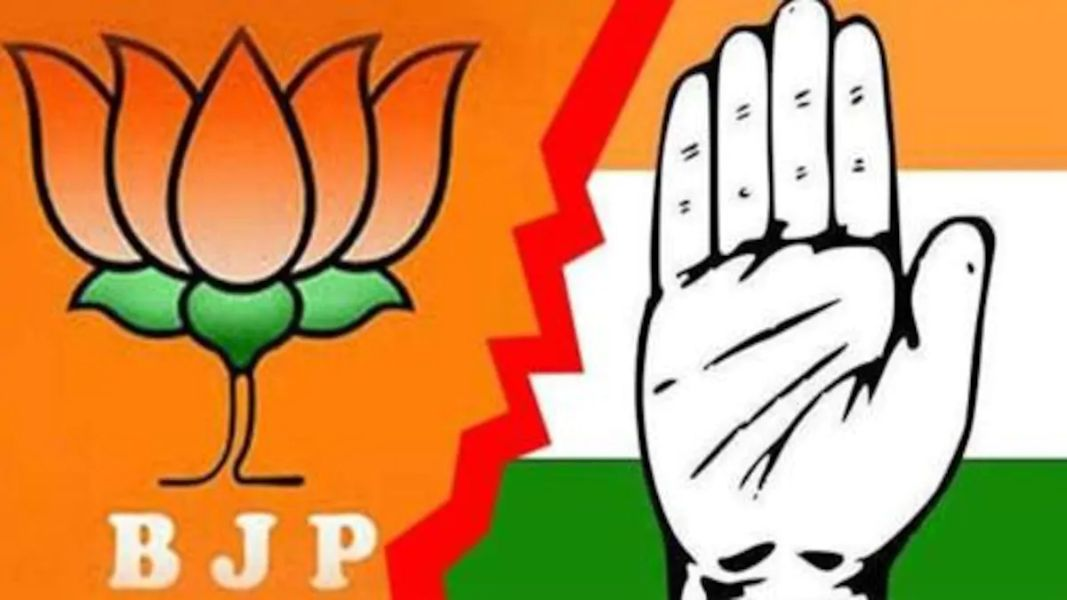 BJP and Congress have a close fight