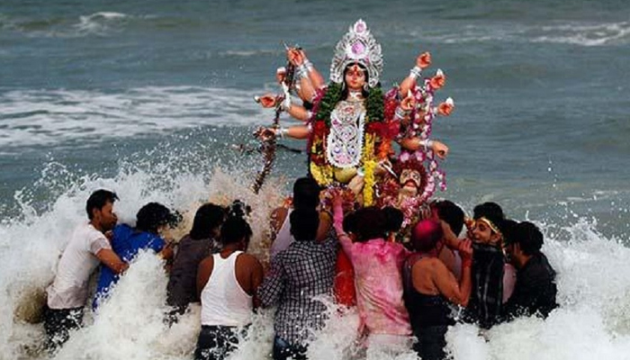 Major incident during Durga idol immersion in Dholpur, Rajasthan