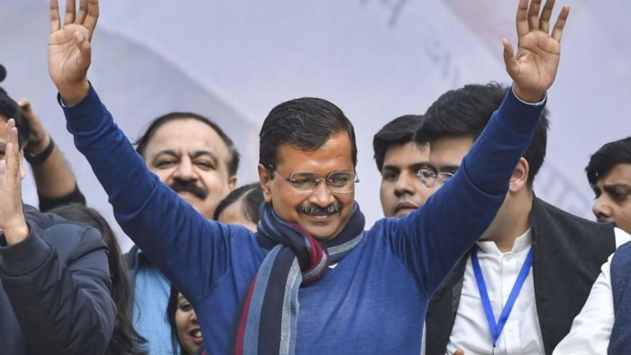 Arvind Kejriwal Thanks To Delhi