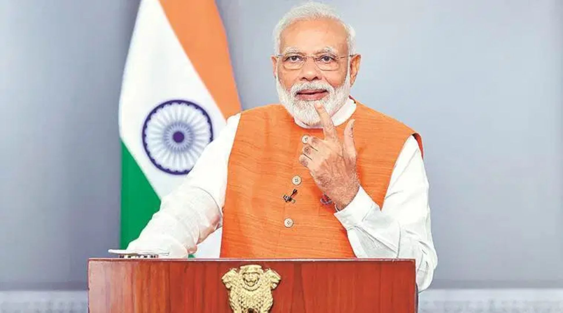 PM Modi Addressed Indian